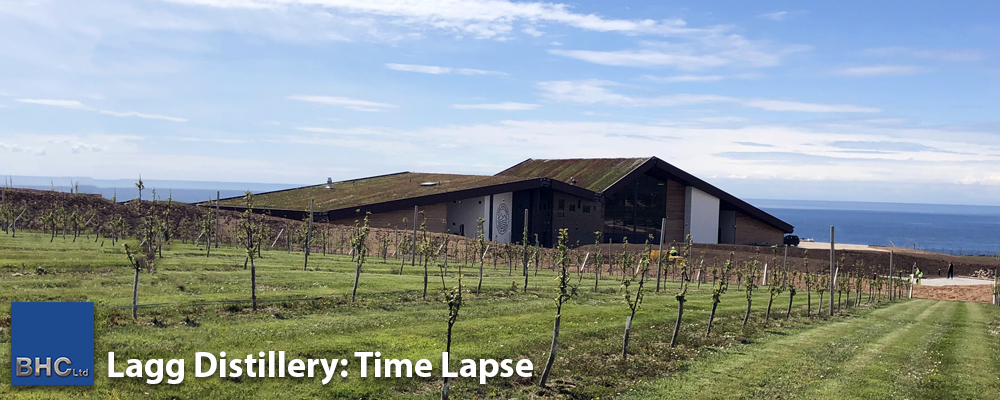 Lagg Distillery - Time Lapse